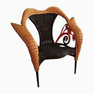 Italienischer Vintage Armlehnstuhl von Borek Sipek für Driade, 1980er