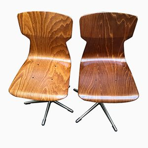 Vintage Pagwood Chairs from Pagholz Flötotto, Set of 2