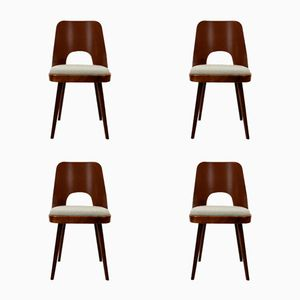 Dining Chairs by Oswald Haerdtl for TON, 1950s, Set of 4