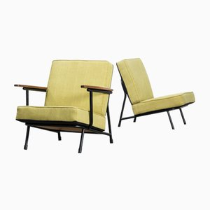 Mid-Century 013 Low Back Chairs by Alf Svensson for Dux, Set of 2