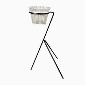 Support pour Plantes avec Cache-Pot Modèle Rigitulle par Mathieu Matégot, 1950s