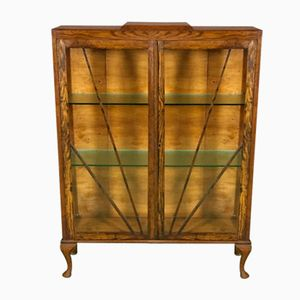 Art Deco Oak Showcase