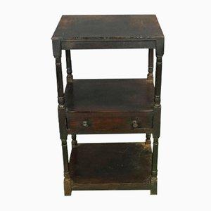 Tavolino in legno di conifera, XIX secolo