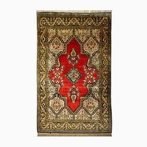 Persian Silk Rug, 1950s