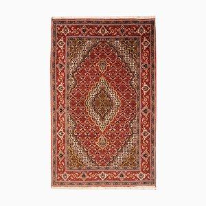 Vintage Persian Tabriz Rug in Wool & Silk, 1980s