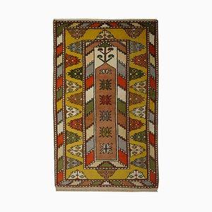 Türkischer Vintage Gebetsteppich, 1970er