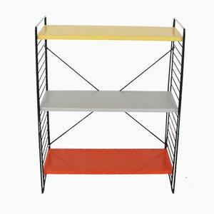 Vintage Metall Regal System von A. Dekker für Tomado, 1960er