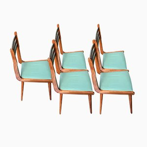 Vintage Chairs by Paolo Buffa, 1960s, Set of 5
