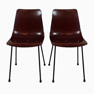 CM131 Chairs by Pierre Paulin for Thonet, 1953, Set of 2