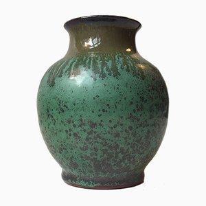 Vaso Mid-Century in ceramica di Bo Fajans, anni '70