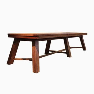 English Arts & Crafts Style Oak Dining Table