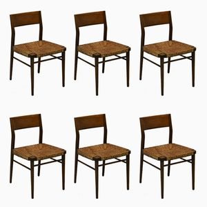 Mid-Century Dining Chairs by Georg Leowald for Wilkhahn, 1950s, Set of 6