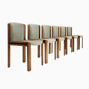Italian 300 Dining Chair by Joe Colombo for Pozzi, 1960s, Set of 6