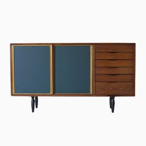 Finnish Pirkka Sideboard by Ilmari Tapiovaara for Laukaan Puu, 1950s