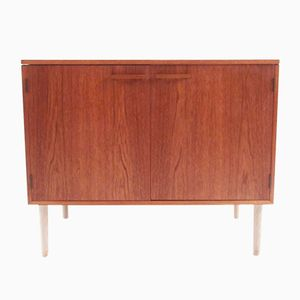 Mid-Century Cabinet with Bar by Kai Kristiansen for Feldballes Møbelfabrik