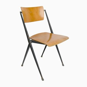 Vintage Pyramid Chair by Wim Rietveld for Ahrend de Cirkel, 1960s