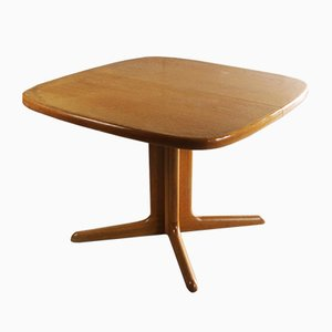Danish Extendable Teak Veneered Dining Table from Skovby, 1970s