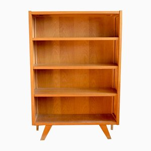 Modernist Oak Bookshelf, 1950s