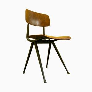 Result Stuhl mit Dunkelgrauem Gestell von Friso Kramer & Wim Rietveld für Ahrend De Cirkel, 1969