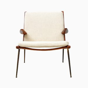 Mid-Century Model 159 Teak Armchair by Peter Hvidt for France & Søn / France & Daverkosen