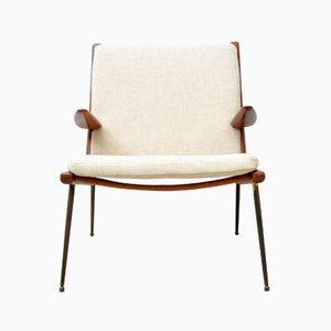 Mid-Century Modell 159 Teak Sessel von Peter Hvidt für France & Søn / France & Daverkosen