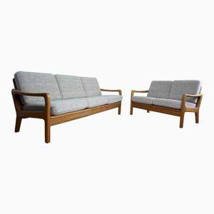 Mid-Century Sofa Set von Juul Kristensen, 1970er, 2er Set
