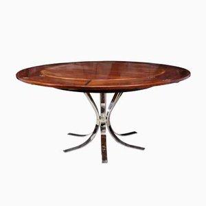 Mid-Century Palisander Lotus Flip-Flap Tisch von Dyrlund