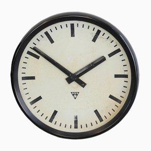 Large Bakelite Clock from Pragotron, 1950s