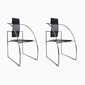 Vintage Quinta Stühle von Mario Botta für Alias, 2er Set