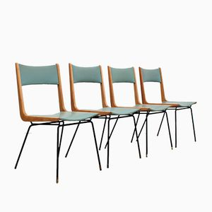 Mid-Century Dining Chairs by Carlo de Carli, Set of 4