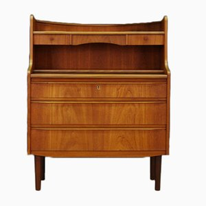 Mid-Century Danish Teak Dressing Table or Secretaire