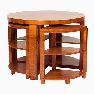 Tavolini a incastro Art Déco di Harry & lou Epstein, anni '30