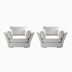 Große Sessel von Maison Jansen, 1960er, 2er Set