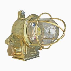 British Brass Industrial Light from Brassuk, 1972