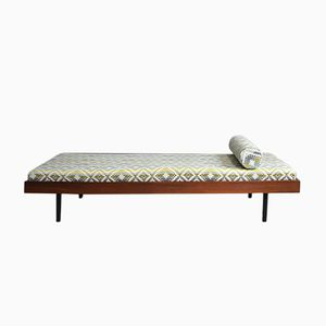 Sofá cama de teca, años 60