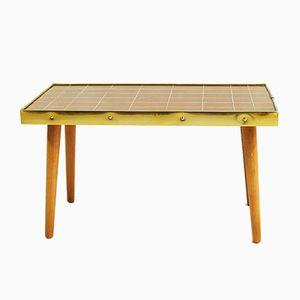 Table Basse avec Plateau de Verre en Mosaïque, 1960s