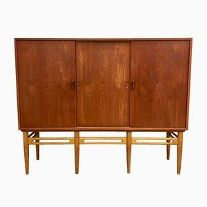 Danish Model 90 Teak Cabinet by Illum Wikkelso for Soren Willadsen, 1950s