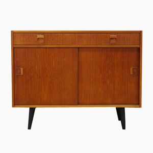 Mid-Century Danish Teak Cabinet from Hundevad & Co