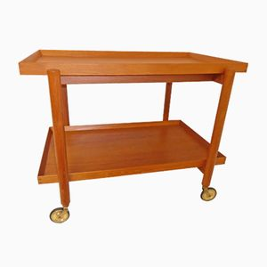 Vintage Danish Teak Tea Trolley