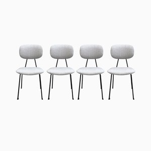 Dutch Chairs by Willem Hendrik Gispen, 1950s, Set of 4