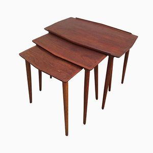Vintage Danish Nesting Tables