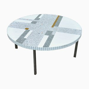 Mosaic Coffee Table by Heinz Lilienthal, 1960s