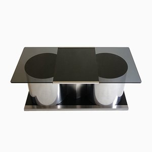 Italian Coffee Table by Ludovico Acerbis, 1970s