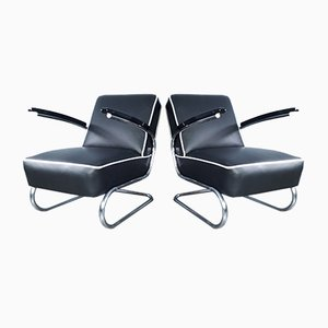 Czechoslovak K29 Bauhaus Style Chairs from Slezak, 1932, Set of 2