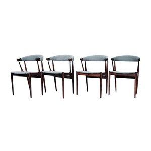 Vintage BA 113 Rosewood Dining Chairs by Johannes Andersen for Andersen Møbelfabrik, Set of 4