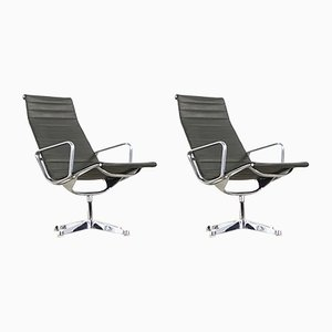 EA 116 Lounge Chairs by Charles & Ray Eames for Herman Miller, Set of 2