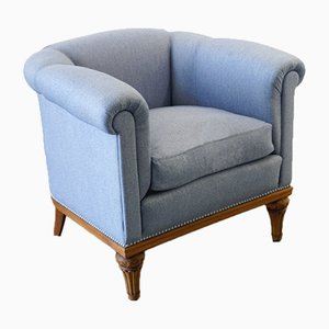 Semi-Circular Club Chair, 1940s