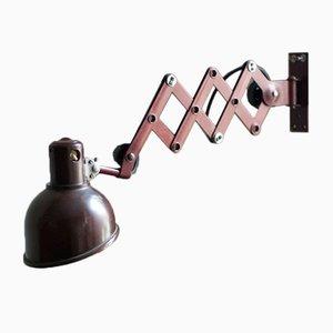German Bakelite Scissor Lamp from Helion