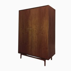 Danish-Style Teak Triple Wardrobe by Ib Kofod-Larsen for G-Plan, 1960s