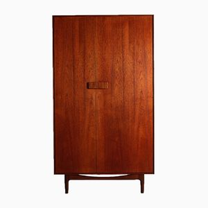Danish-Style Teak Wardrobe by Ib Kofod-Larsen for G-Plan, 1960s